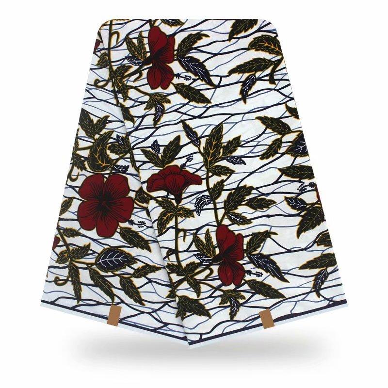 Veritable Real Africain Fabric High Quality Ankara Fabric Wax Print African Fabric Tissu Wax Wholesale Ankara