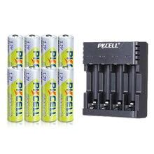 8 шт батарейки pkcell nimh aa 2600 мАч 12 в 2a ni mh аккумуляторные