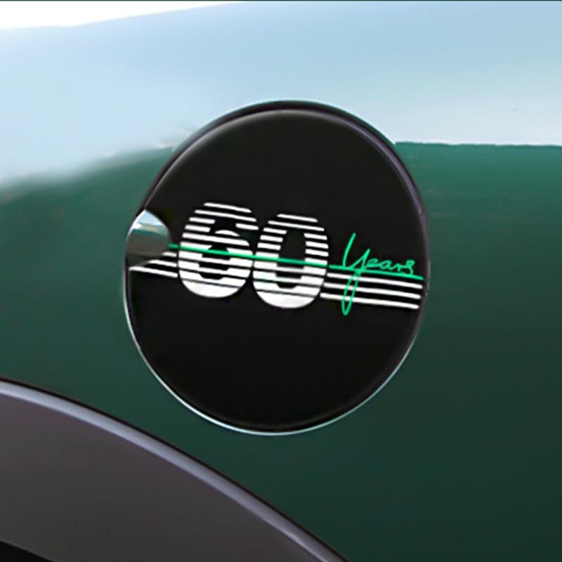 60th Anniversary Decoration For BMW MINI Cooper F54 F55 F56 F57 F60 R55 R56 R60 R61 Car Accessories Exterior Styling Car Sticker