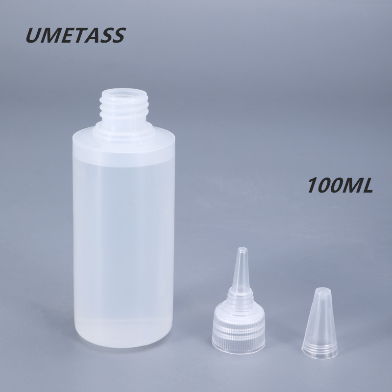 Durable Plastic Squeeze Bottles 100ML Leak-proof Empty Dropper Bottle For Liquid,Oil,Color Pigment Hot Sell