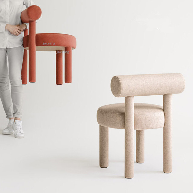 Wood Dining Chairs w/ Backrest  4