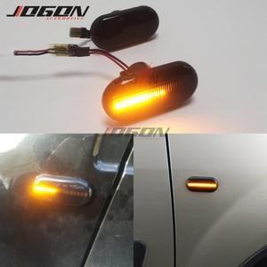 Image 1 - For Renault Megane 1 Clio1 2 KANGOO ESPACE Dacia Duster Dokker Lodgy LED Dynamic Turn Signal Side Marker Fender Indicator Light