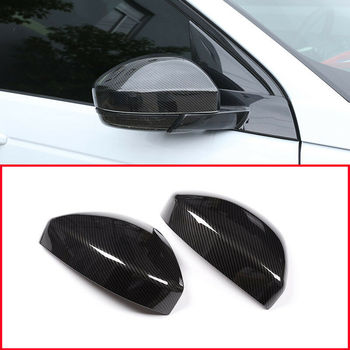 Carbon Fiber For Discovery Sport 2015-2019 Range Rover Velar Rearview Mirror Cover