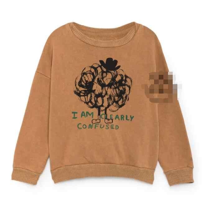 IN STOCK BO kids 2019 Autumn Toddler BOY Sweatshirts Baby Girl Sweatshirt Cartoon Boy Clothes Kids Clotning Girl Tops