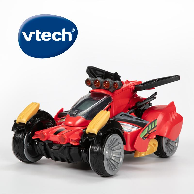 Vtech Switch & Go Dinos Sandstorm The Stegosaurus With Remote Control Red