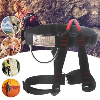 Professional Anti Fall Rescue Rock Climbing Harnesses Full Body Safety Belt Outdoor Spider-work Seat Belt Safety Protection mool heng shuo rock climbing safety harness belt tree carving arborist rappelling fall arrest