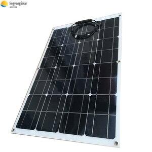 Гибкая солнечная панель 80 Вт монокристаллическая солнечная батарея 160 Вт 2 шт 80 Вт солнечная панель для автомобиля лодки по оптовой цене сде...