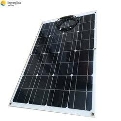 Darmowa wysyłka 80W elastyczny Panel słoneczny ładowarka samochodowa 18V wyjście 12V chiny zestaw z układem słonecznym mono ogniwo słoneczne