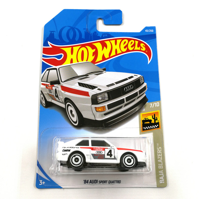 Hot Wheels 1:64 Car 2019 NO.43-83  AUDI HONDA FORT CHEVY DODGE Metal Diecast Model Car Kids Toys Gift