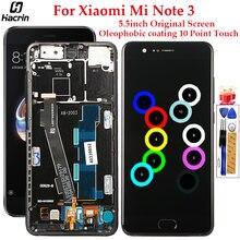 Оригинальный дисплей для xiaomi mi note 3 lcd 10 сенсорный экран