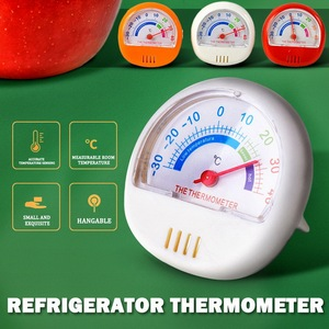 Indoor Outdoor Thermometer Analog Temperature Gauge Monitor pointer real-time refrigerator thermomenter sensing