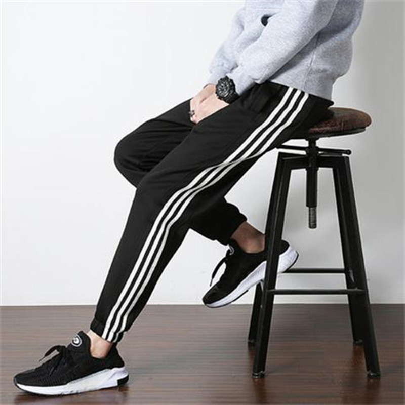 2019 Pants MEN'S Casual Pants Sweatpants Korean-style Chao Liu Ji Loose-Fit Athletic Pants Men's