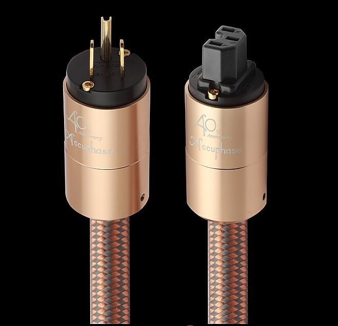 Accuphase fièvre importé cordon d'alimentation AU hifi câble d'alimentation hifi EU US câble de prise