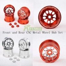 Комплект ступиц колеса из сплава с ЧПУ С колесными гайками подходит для 1/5 HPI ROFUN ROVAN KM BAJA 5B SS грузовик RC запчасти для автомобилей