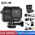 Original sjcam sj8 série sj8 ar & sj8 plus & sj8 pro câmera de ação 1290 p 4 k wifi controle remoto dv esportes à prova ddv água