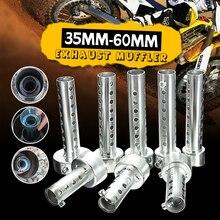 Мотоцикл может дБ убийца глушитель шумоподавитель выхлопной трубы Регулируемый глушитель 35 мм/42 мм/45 мм/48 мм/60 мм