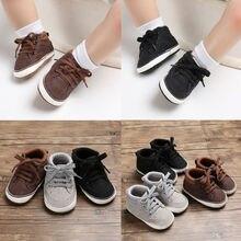 Cute Toddler Baby Shoes Boy Girl Soft Soles Anti-slip Crib L