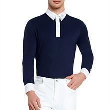 Верховая езда Одежда Мужские футболки оборудования футболка