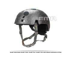 Fma Helmet Suspension System + Squeeze Spongeable Tb1050 -fg Memory Spoke hot miliray airsoft helmet