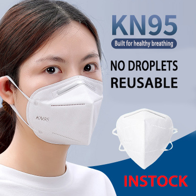 2020 Hot Selling KN95 PM2.5 Respirator Face Mask Disposable Anti-fog Anti Dust Smoke Allergy Breathable KN95 Mouth Mask