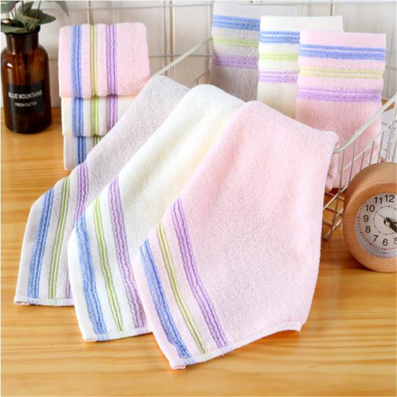 35 * 35 Full Cotton Face Towel Gift Custom Baby Wash A Face Towel Towel Water Dropping  Kindergarten Children 8037