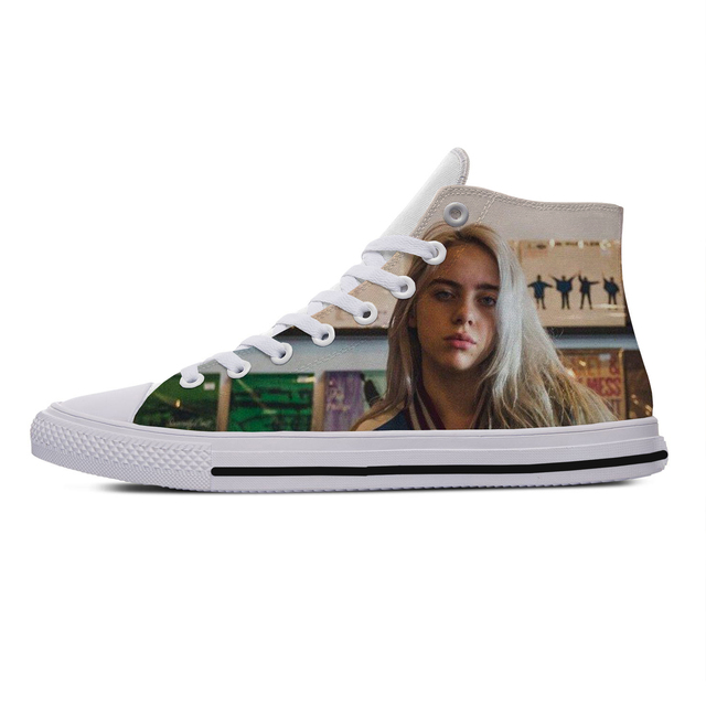 3D BILLIE EILISH HIGH TOP SHOES (5 VARIAN)