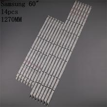 New 14pcs LED backlight strip For SAMSUNG 2014SVS60F 3228 R05 L05 BN96 30433A 30434A UA60H6400 D4GE 600DCA R2 CY HH060CSSV2H