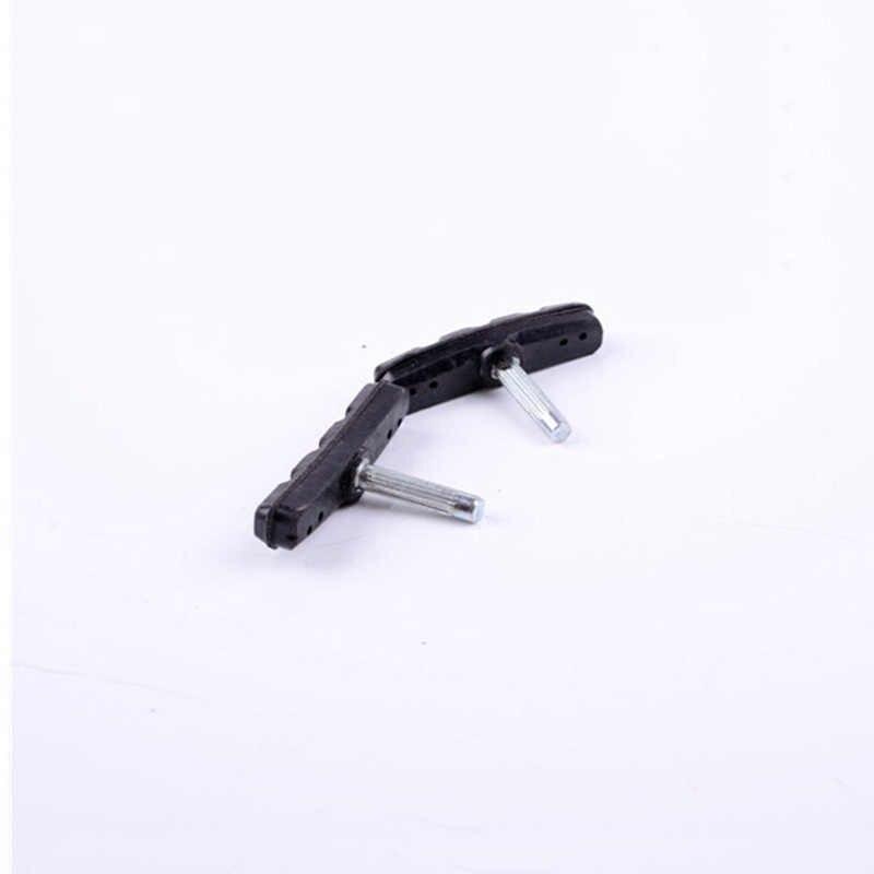 1pc caoutchouc vélo plaquettes de frein vélo freinage v-frein support chaussures blocs accessoires de VTT durables