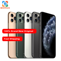 New Apple iphone 11 pro max A2220 Mobile Phone 6.5 4GB RAM 64/256/512GB ROM Hexa coreTriple Rear Camera Dual SIM Smart Phone