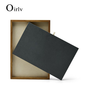 Oirlv New Solid Wood Jewelry D