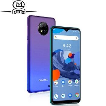 Перейти на Алиэкспресс и купить OUKITEL C19 Android 10,0 MTK6737 Четырехъядерный 4G смартфон 6,49 дюймHD + 2 Гб ОЗУ 16 Гб ПЗУ 1560*720 4000 мАч отпечаток пальца ID мобильный телефон