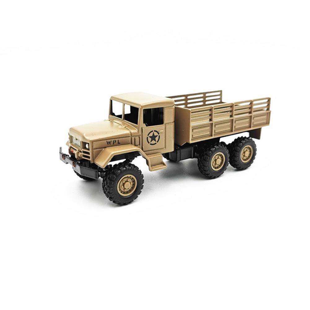 Wpl mb14/mb16 1/64 4wd 6wd alta simulação tático modelo militar veículos liga modelo de carro para crianças brinquedos 2020 novo