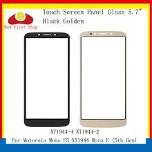 10Pcs/lot Touch Screen For Motorola Moto E5 XT1944 Touch Panel Front Outer LCD Glass Lens XT1944-4 XT1944-2 E5 Replacement front cover replacement for motorola symbol mc36