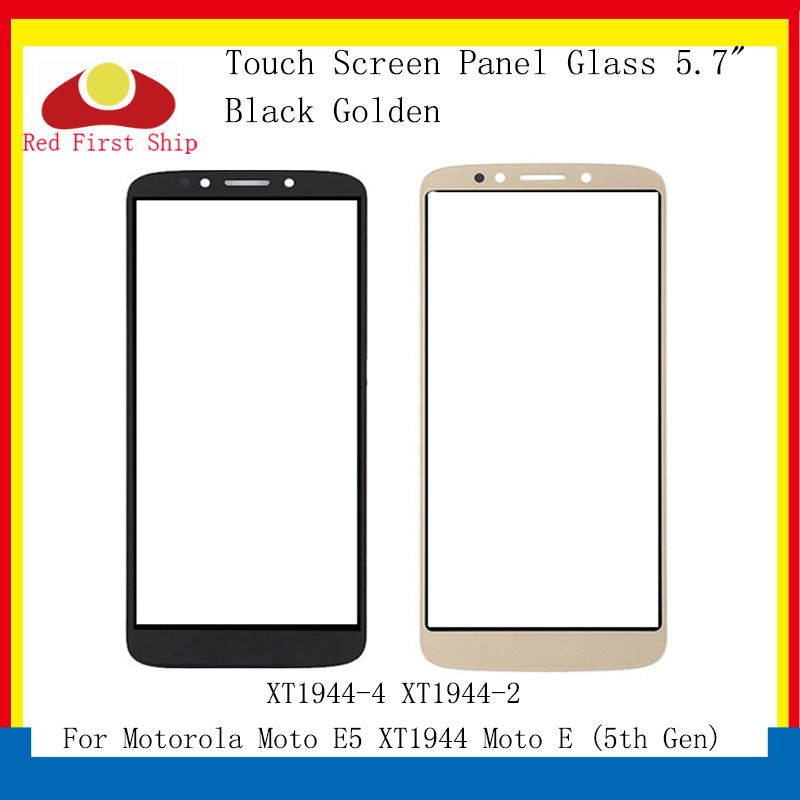 10Pcs/lot Touch Screen For Motorola Moto E5 <font><b>XT1944</b></font> Touch Panel Front Outer LCD Glass Lens <font><b>XT1944</b></font>-<font><b>4</b></font> <font><b>XT1944</b></font>-2 E5 Replacement image