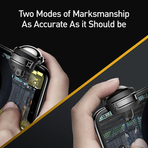 Image 3 - Baseus Pubg Controller for iPhone XR L1 R1 Gaming Trigger Pubg Mobile Gamepads Fire Button Smart Phone Mobile Shooter Controller