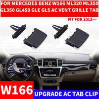 Coche A/C rejilla de ventilación Tab Clip automóviles aire acondicionado salida Kit de reparación para mercedes-benz W166 ML320 ML350 GL450 ML GLE