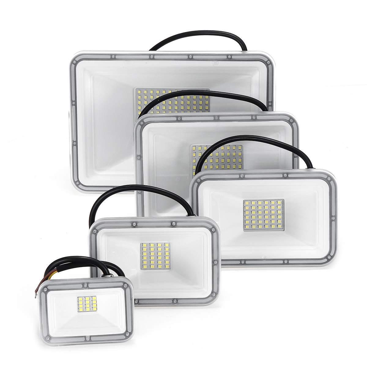 Ultra Thin Led Flood Light Spotlight Outdoor 220V IP67 Outdoor Wall Lamp LED Floodlight 10W 20W 30W 50W 100W|Floodlights| |  - title=