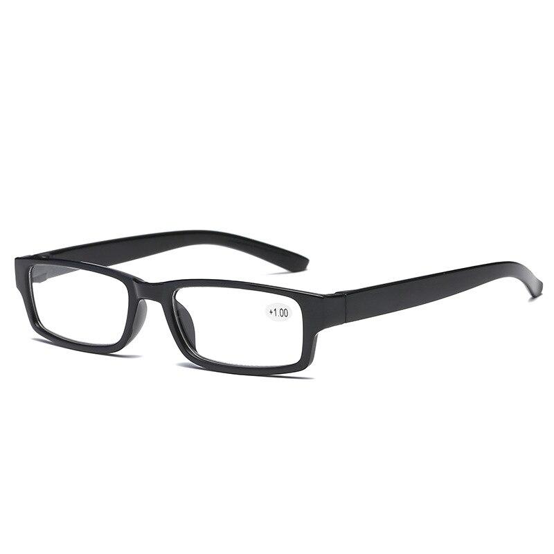 TR90 Сверхлегкий очки для чтения с линзами из смолы пресбиопии дальнозорких очки диоптрий + 1,0 + 1,5 + 2,0 2,5 3,0 3,5 + 4,0