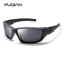 FUQIAN Brand 2019 Vintage Polarized Sunglasses Men Fashion Sports Sunglass Women Driving Sun Glasses Outdoor Goggles Eyewear