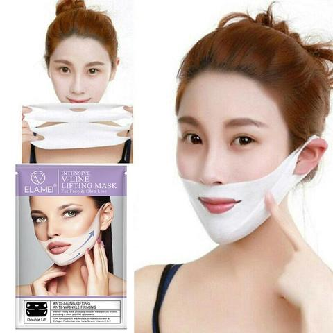 Face Slimming Face Care Tools Thin Skin Care Face Mask Chin Double Beauty Treatment Cellulite Women Skin Health Anti B7Q5 Lahore