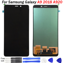 A920 Screen For Samsung Galaxy A9 2018 Lcd Display Touch Screen Digitizer Assembly For Samsung A9 2018 A920 Replacement A920F for samsung galaxy a9 a9000 lcd display touch screen digitizer assembly white replacement pantalla parts