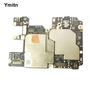 Оригинальная материнская плата Ymitn для Xiaomi RedMi hongmi Note6 Pro Note 6 pro Note6Pro, разблокированная глобальная Rom с чипами Logic