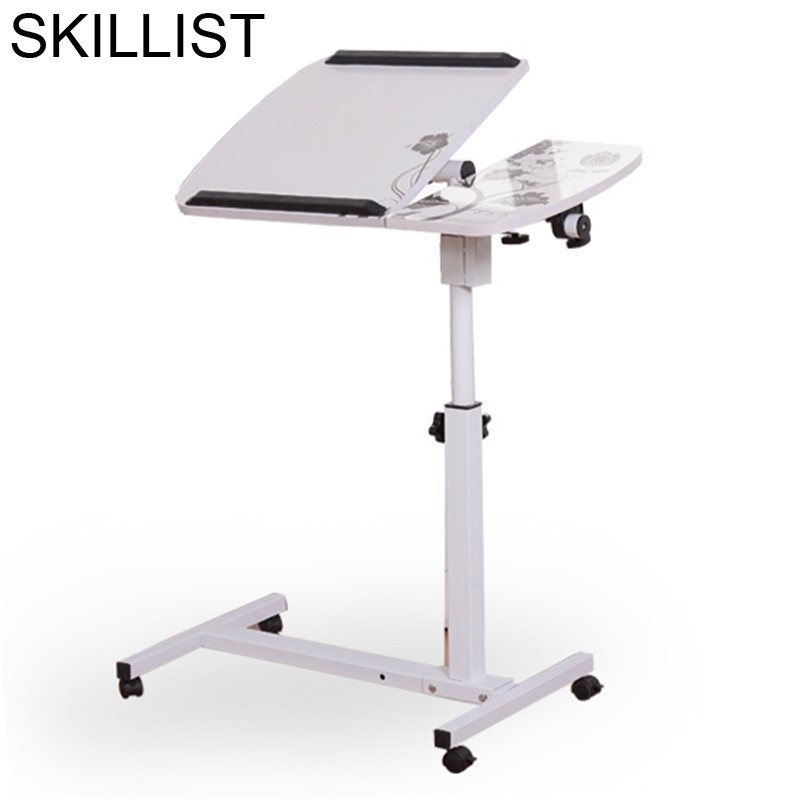 Portable Dobravel Portatil Escritorio Tafel Office Small Adjustable Mesa Bedside Laptop Stand Study Desk Computer Table