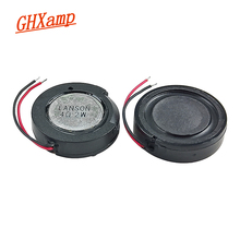 GHXAMP 24mm 1 inch Woofer Speaker Unit 4ohm 2W Mini Speaker DIY For Navigator Voice Digital Loudspeakers 2PCS
