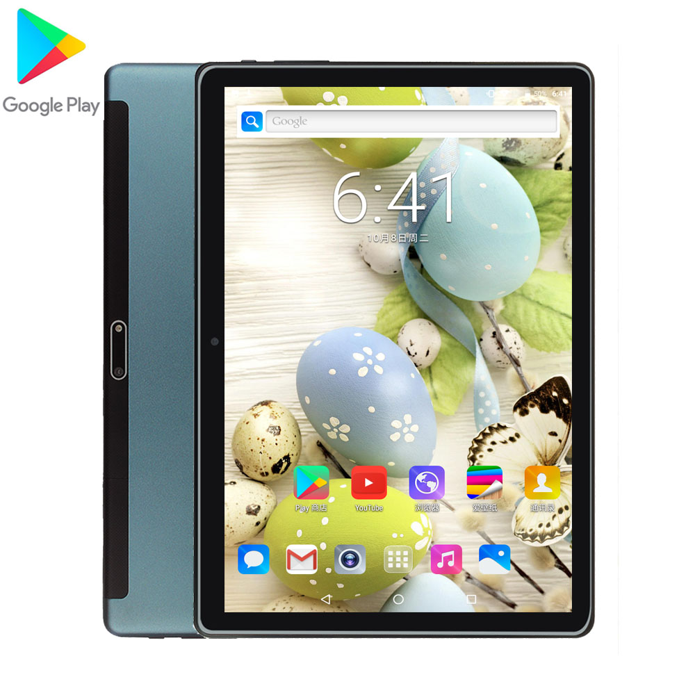 Hot Sale 2020 New 10 Inch 3G Dual SIM Tablet PC Quad Core Android 9.0 10.1 IPS 1280*800 WiFi GPS 2.5D Glass Google Market GPS CE