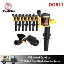 Carbole 8 шт Автомобильная Катушка зажигания на вилке dg511