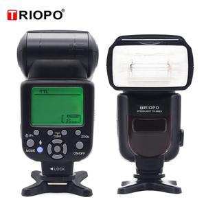Image 2 - Triopo TR 586EX Wireless Mode TTL Speedlite Speedlight For Canon 5D Nikon D750 D800 D3200 D7100 DSLR Camera as YONGNUO YN 568EX