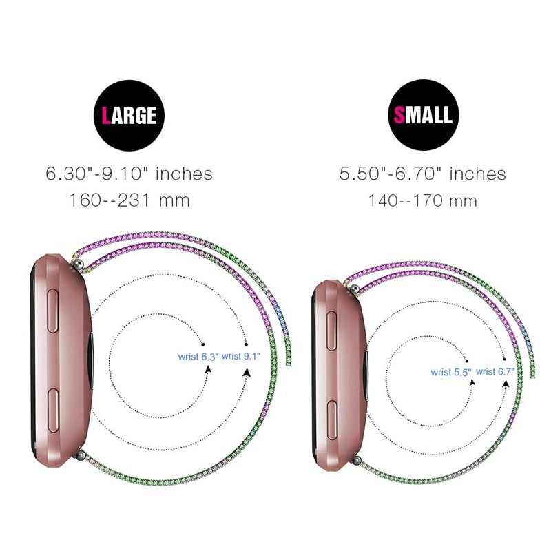 חדש ממילאנו נירוסטה מגנטי mesh להקת שעון עבור Fitbit Versa Lite2 חכם ספורט יד מתכוונן רצועת אבזרים
