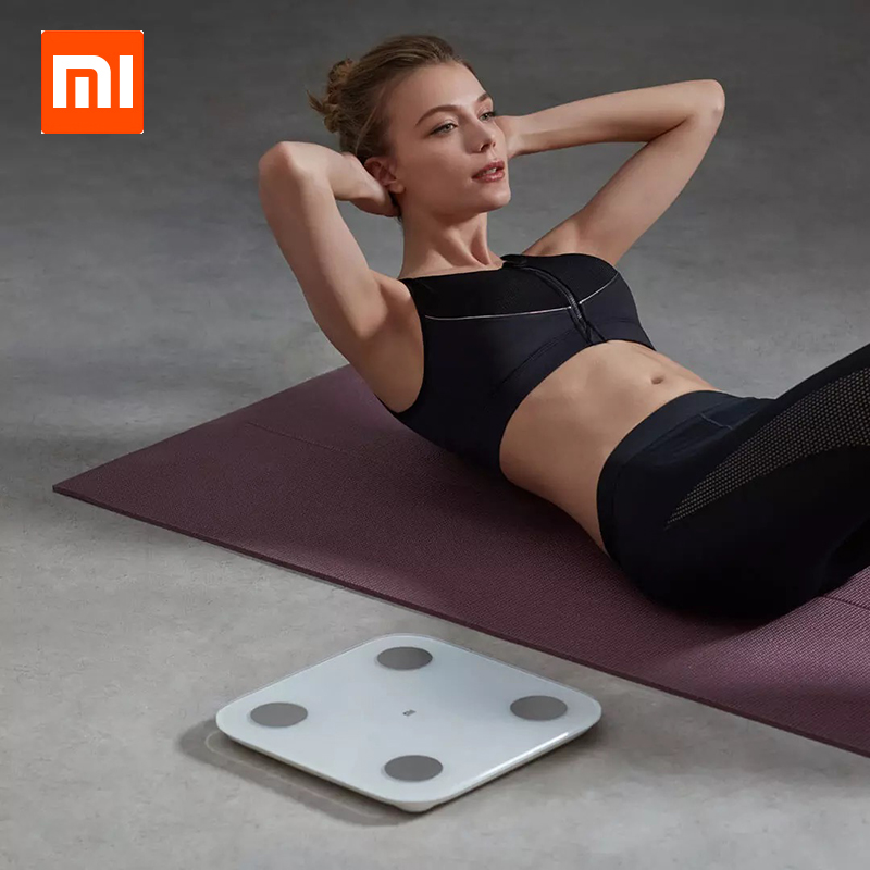 Оригинальный Xiaomi Smart Body Fat 2 Mi Composition Scale Bluetooth 5,0 Balance Test Body Date BMI Health Weighing Scale Monitor|Смарт-гаджеты|   | АлиЭкспресс