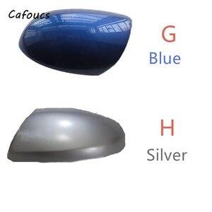 Image 5 - Cafoucs למאזדה 2 מאזדה 3 1.6 צד מראה אחורית כיסוי מראת כובע עם את צבוע צבע